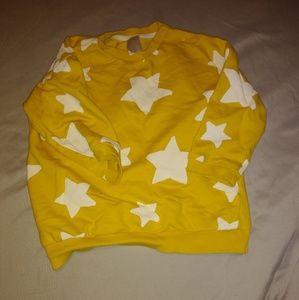 Baby Boy Star Sweatshirt